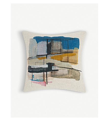 TOM DIXON Paint canvas cushion 45x45cm