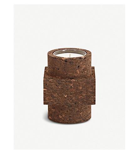 TOM DIXON Medium cork scented candle 500g