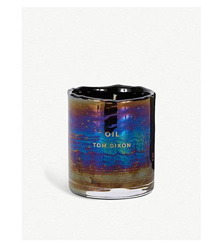 TOM DIXON Oil scented candle medium