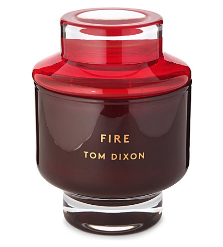 TOM DIXON SCENT Fire large candle