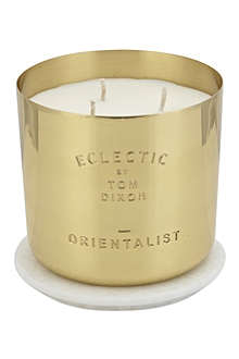 TOM DIXON Large Orientalist scented candle