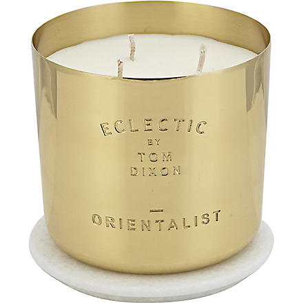 TOM DIXON Large Orientalist scented candle