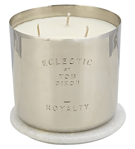 TOM DIXON Large Royalty scented candle 1.15kg