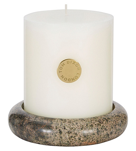 TOM DIXON Stone pillar candle giftset