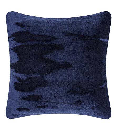 TOM DIXON Soft mohair velvet cushion 43cm