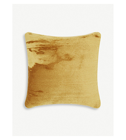TOM DIXON Soft mohair velvet cushion 43cm
