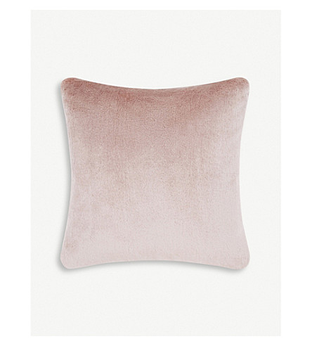 TOM DIXON Soft mohair velvet cushion 43cm x 43cm