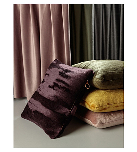 TOM DIXON Soft wool-blend cushion 45cm x 45cm