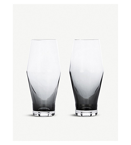 TOM DIXON Tank Beer glasses set of 2