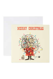 NONE Pack of 10 Christmas cards