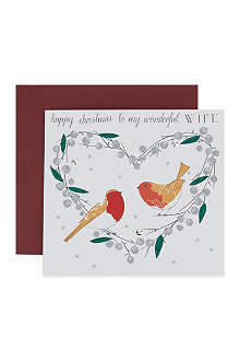 NONE Happy Christmas Wonderful Wife card