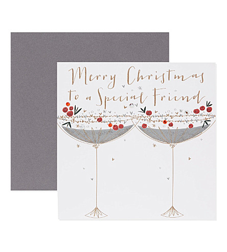Belly button special friend christmas card selfridges special friend christmas card previousnext m4hsunfo