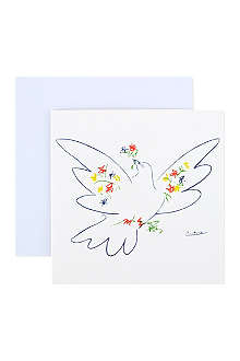 THE GREAT BRITISH CARD COMPANY Box of 12 Picasso dove cards