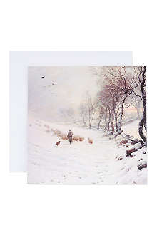 THE GREAT BRITISH CARD COMPANY Winter Landscape cards