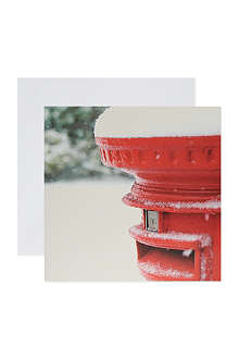 THE GREAT BRITISH CARD COMPANY Postbox greeting cards