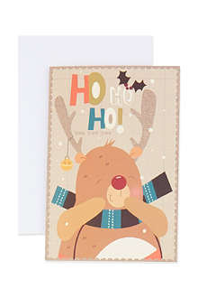 THE GREAT BRITISH CARD COMPANY Bear mini cards