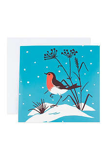 THE GREAT BRITISH CARD COMPANY Deer and robin cards