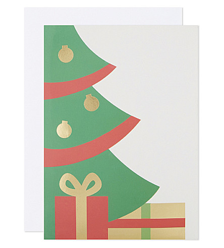BOXED CARDS Holiday room set of 6 Pop-Up Christmas cards