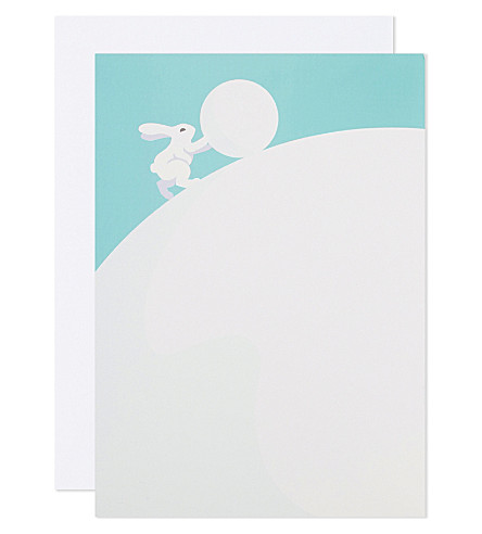 BOXED CARDS Woodland Snowman set of 6 Pop-Up Christmas cards