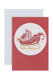 CHRISTMAS Box of 20 mini Christmas cards