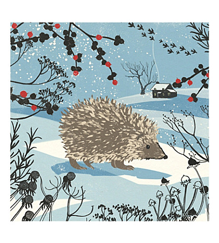 Museums galleries hedgehog pack of eight christmas cards museums galleries hedgehog pack of eight christmas cards m4hsunfo