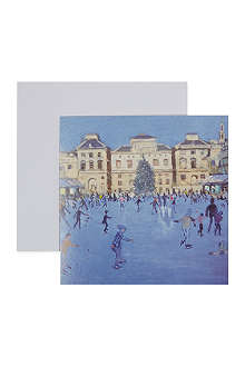 MUSEUMS + GALLERIES Somerset house skaters set of 6 Christmas cards