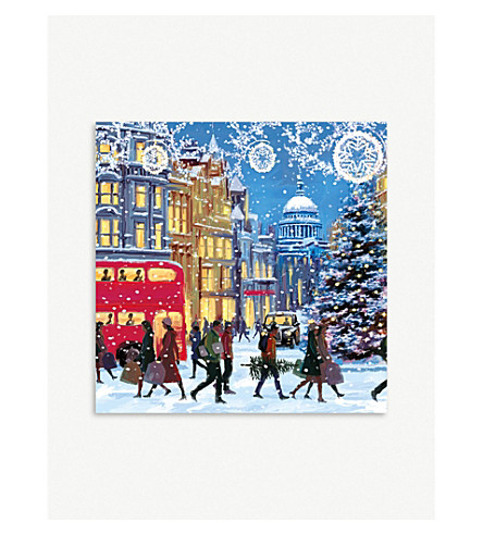 MUSEUMS + GALLERIES Christmas Eve Christmas card 5-pack