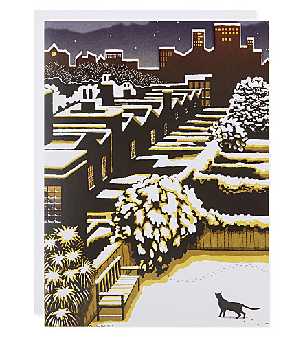 MUSEUMS + GALLERIES Set of 8 charity Christmas cards