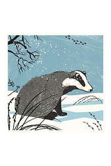 MUSEUMS + GALLERIES Nicola O'Byrne 'Badger' cards 8 pack
