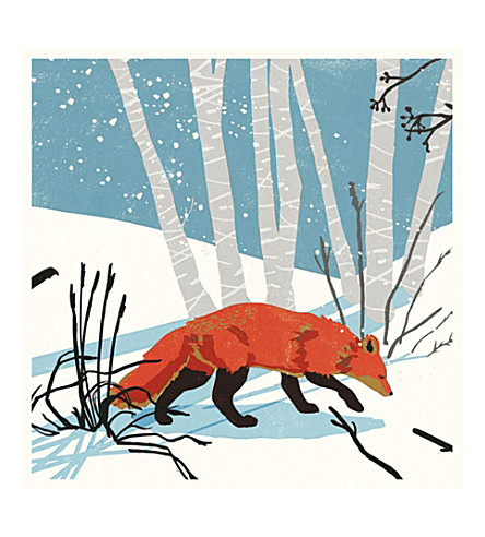 Museums galleries nicola obyrne fox pack of eight christmas previousnext m4hsunfo