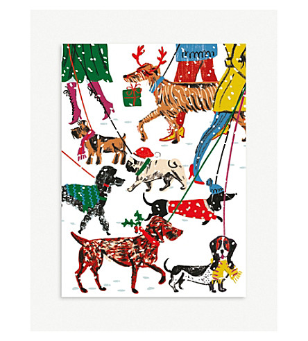MUSEUMS + GALLERIES Winter walkies Christmas card