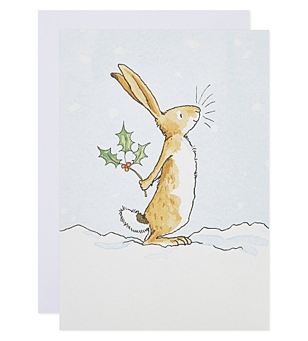 MUSEUMS + GALLERIES Set of 20 guess how much i love you christmas cards