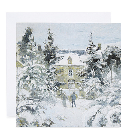 MUSEUMS + GALLERIES Piette's House at Montfoucault print Christmas cards set of 8