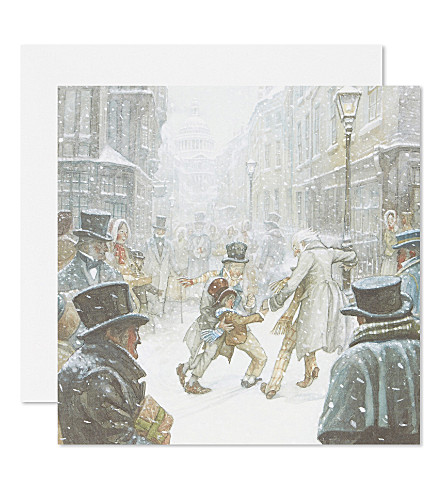 BOXED CARDS Scrooge Was Better Than His Word christmas cards set of eight