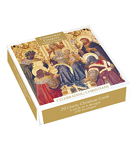 MUSEUMS + GALLERIES Set of 20 charity christmas cards