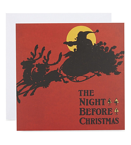 MUSEUMS + GALLERIES Christmas classics set of 20 Christmas cards