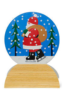 CHRISTMAS Snow Globe box of eight MoMA Christmas cards