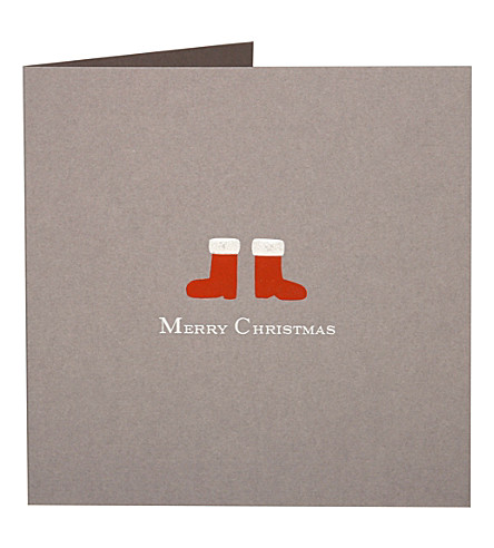BOXED CARDS Boots Christmas cards pack of five