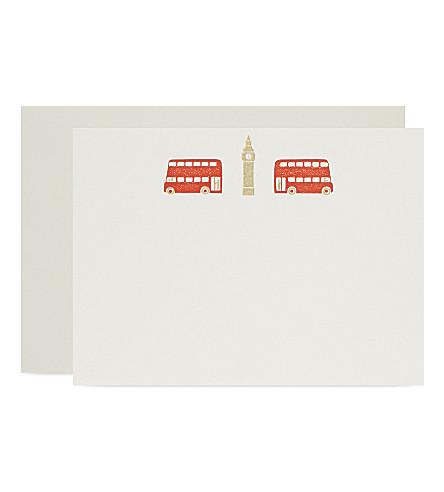 CARD London Big Ben correspondence cards set of ten