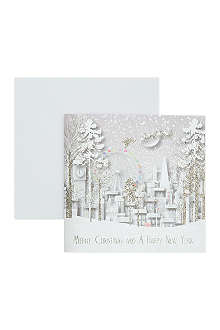 FIVE DOLLAR SHAKE Box of six Christmas cards