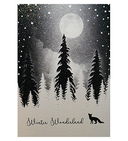FIVE DOLLAR SHAKE Winter wonderland Christmas cards pack of six