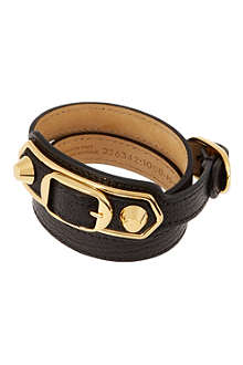 BALENCIAGA Classic leather bracelet