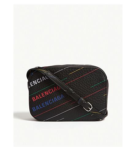 43b9aca3b2bb ... BALENCIAGA Logo camera bag (Black. PreviousNext