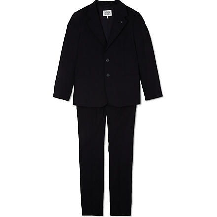 ARMANI JUNIOR Classic two piece suit 10-16 years (Navy