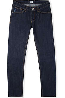 ARMANI JUNIOR Regular mid-rise jeans 9-16 years