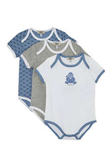 ARMANI JUNIOR Bodysuit gift box 3 pack
