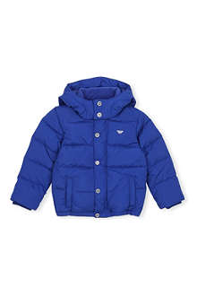 ARMANI JUNIOR Hooded padded jacket 4-16 years