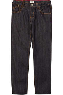 ARMANI JUNIOR Dark wash slim fit jeans 3-8 years