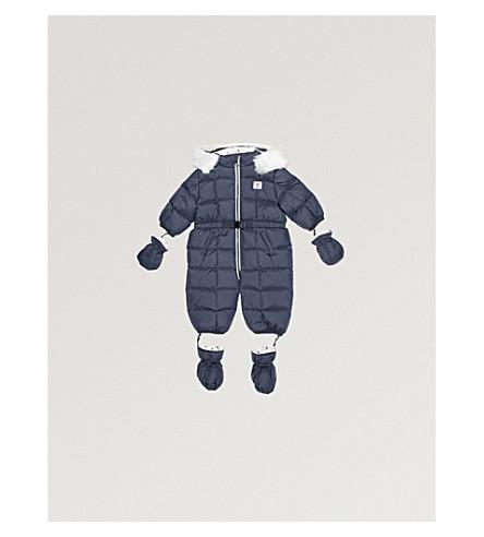 ARMANI JUNIOR Padded snowsuit 3-12 months (Navy