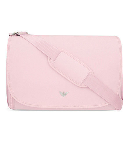 ARMANI JUNIOR Classic changing bag (Pink